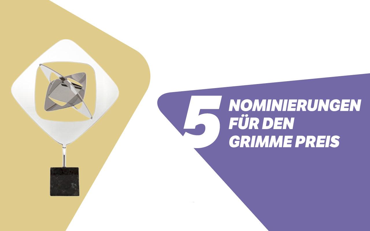 Grimme-Preis Nominierungen 2018