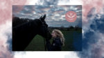 Fay mit ihrem Pferd Novalie